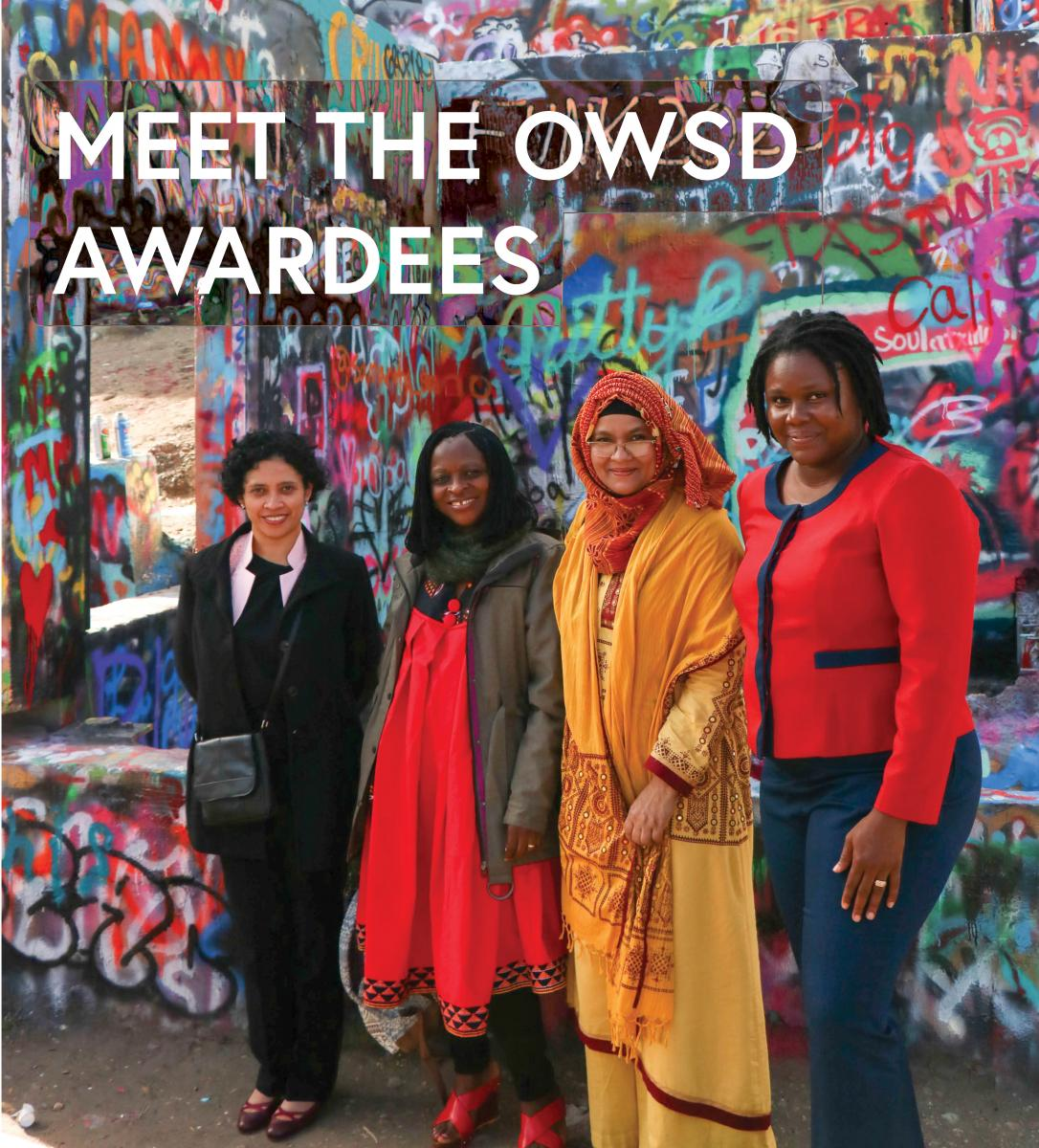 The OWSD – Elsevier Foundation Awards for Early Career Women Scientists in the Developing World