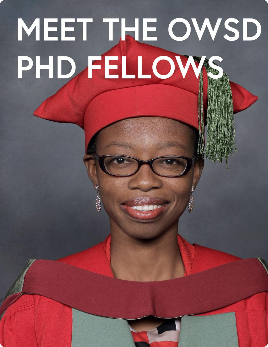 PhD Fellowships for Women Scientists from Science and
